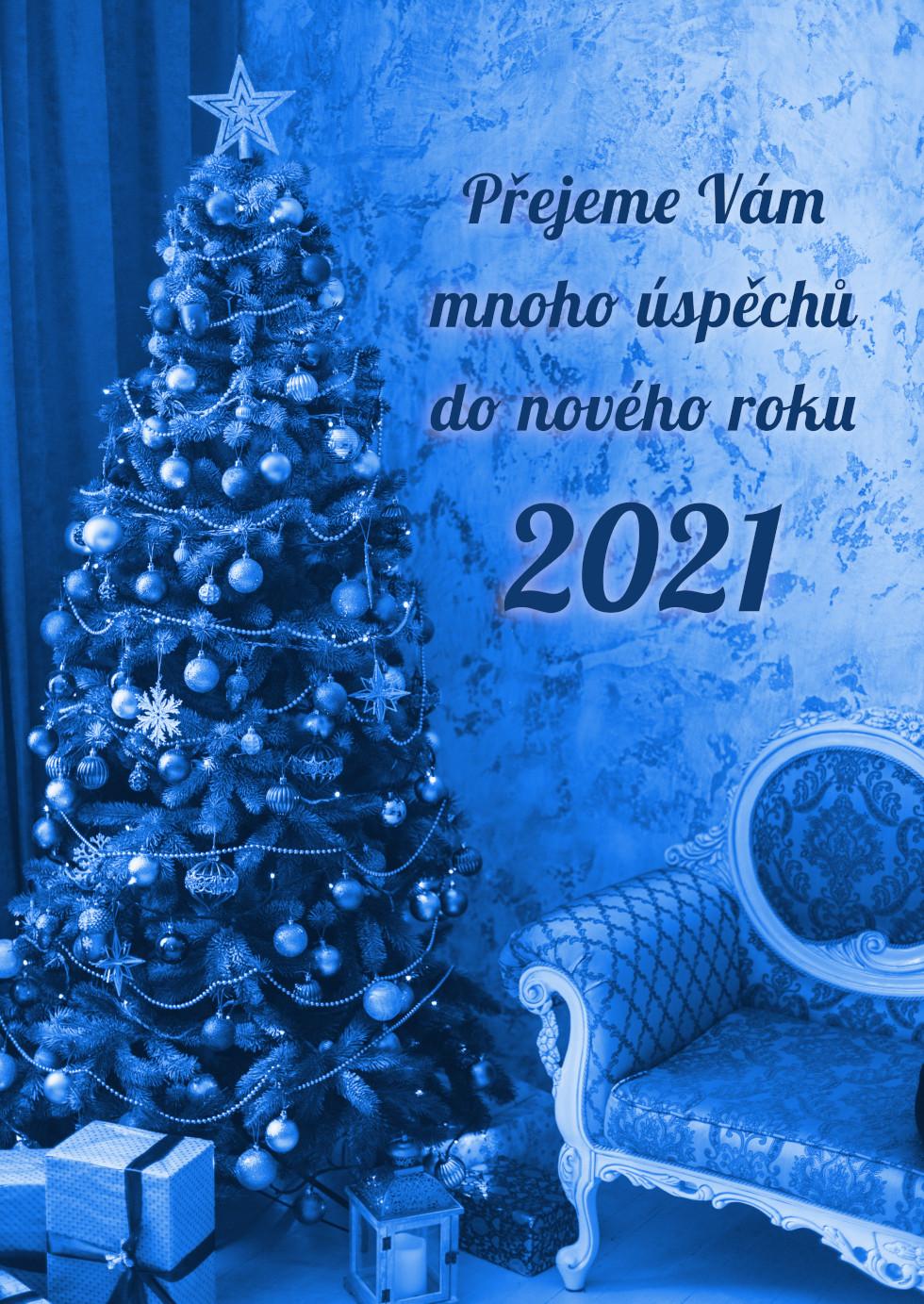 PF 2021 - Přejeme Vám mnoho úspěchů do nového roku 2021
